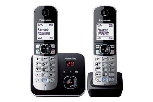 Cordless Panasonic KX-TG6822 Silver Duo