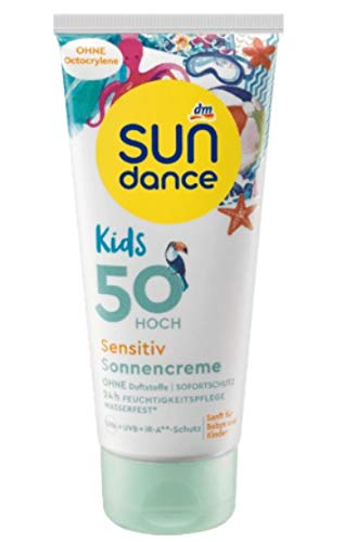 SUNDANCE Kids Sensitiv Sonnencreme LSF 50, 100ml