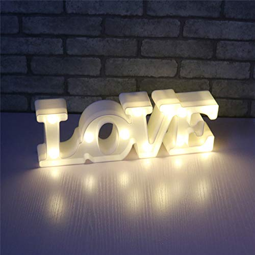 3D Unicornio Lluminación y Lámparas Luces Creativas Lámparas de Mesa y Mesilla de Noche (LOVE 1)