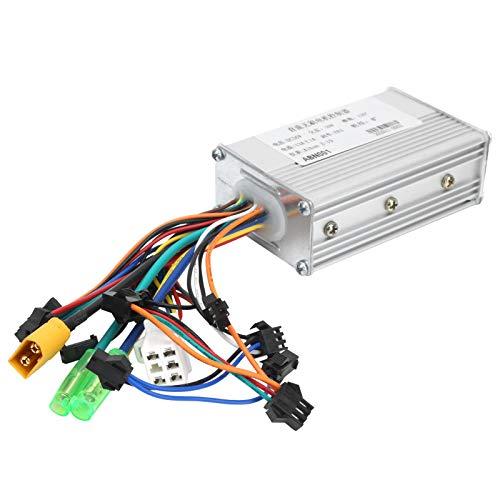 Alomejor Controlador de Velocidad del Motor de 36V 350W DC Controlador sin...