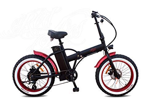 Rodars Fatbike eBike Bicicleta Eléctrica Plegable Fatty