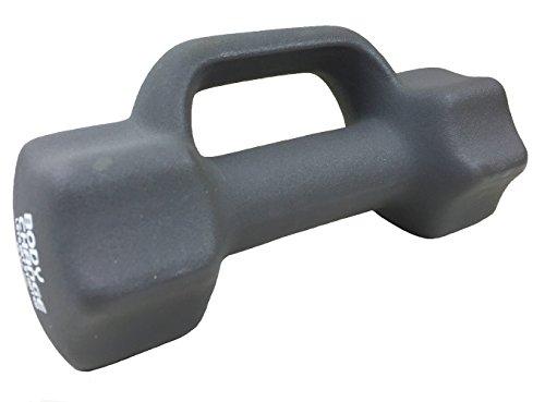 カラーダンベル ハンドル付 3kg グレー(GRAY) / 鉄アレー ダンベル カラーアレー
