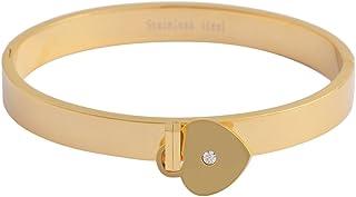Brillibrum ID armring armband rostfritt stål med graveringstallrik silver guld läderarmband partner smycken vänskapsarmban...