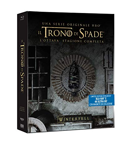 Il Trono Di Spade - Stagione 08 (3 Blu-Ray 4K Ultra Hd+3 Blu-Ray) [Italia] [Blu-ray]