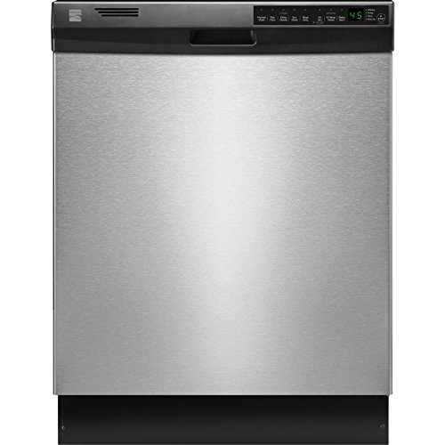 """Kenmore 12333 24"""" Built-In Dishwasher, Stainless Steel (Available in Select Cities)"""