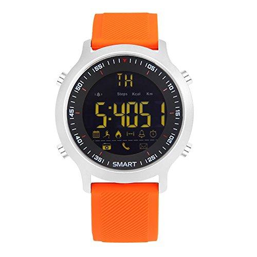 iMusk iMusk EX18 Smart Watch Herren Sportuhr 5ATM Wasserdicht Bluetooth 4.0 SmartWatch Schrittzähler Anruf Erinnerung Stoppuhr