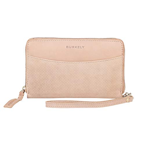BURKELY Lena Padded Portemonnee Clutch Cream