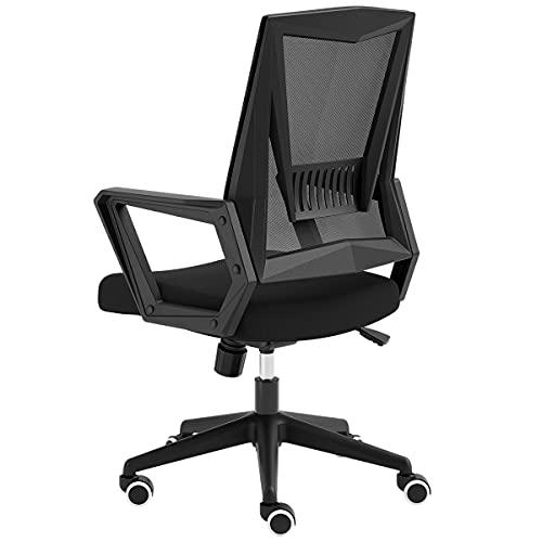 sedia ergonomica hbada Hbada Sedia da Ufficio ergonomica Sedia da scrivania con comodo Schienale