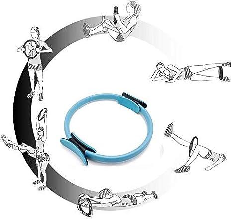 /équipement de r/ésistance dexercice COOLGUY Anneau de Pilates Magic Fitness Cercle anneau de Pilates /à double poign/ée pour tonifier et sculpter lint/érieur et lext/érieur des cuisses