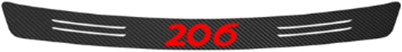AMYMGLL Dedicated for Peugeot 206 70% All stores are sold OFF Outlet Pla Protectors Guard Scuff Car