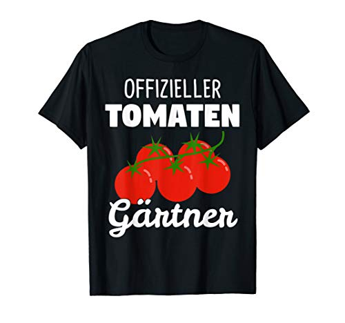 Tomaten Gewächshaus Tomaten-Pflanzen Strauchtomaten Geschenk T-Shirt