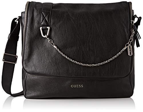 Guess Herren Jones Business Tasche, Schwarz (Black), 10x30x34 centimeters