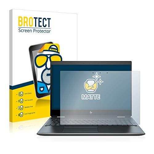 BROTECT Entspiegelungs-Schutzfolie kompatibel mit HP Spectre x360 15-df0304ng Bildschirmschutz-Folie Matt, Anti-Reflex, Anti-Fingerprint
