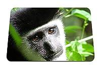 26cmx21cm マウスパッド (猿の顔の子供) パターンカスタムの マウスパッド