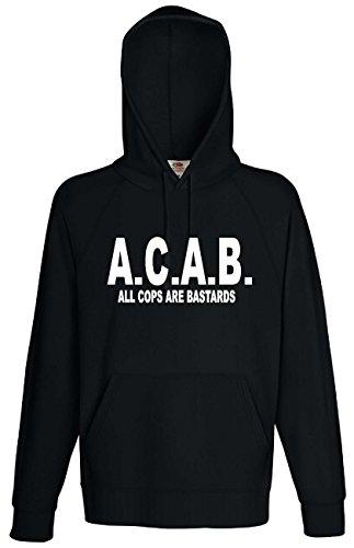 world-of-shirt ACAB All COPS Are Bastards Kapuzensweat Hoodie S-XXL