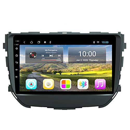 Navegación GPS para Coche Android Sistema Multimedia Bluetooth para Suzuki BREZZA 2016-2018 Soporte Mirror Link WiFi / 4G SWC DVR SWC Bluetooth