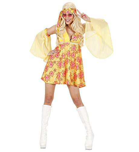 WIDMANN - Costume da Vamp, Anni 70, in Taglia M