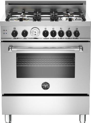 MAS304GASXT | Bertazzoni Master 30 Gas Range, 4 Burners, Natural Gas -...
