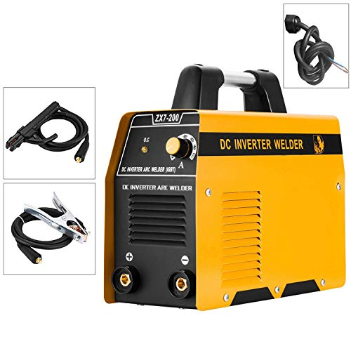 220V ARC Welding Machine, 200Amp Power, IGBT AC-DC Beginner Portable Welder...