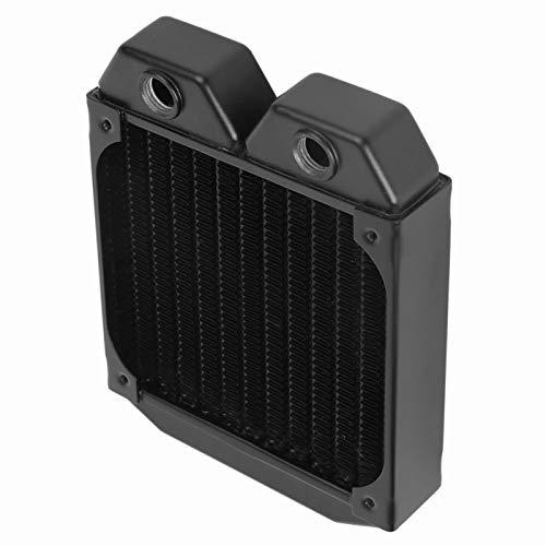 Enfriador de CPU Intercambiador de Calor de refrigeración por Agua Disipador de Calor de CPU Intercambiador de Calor de Aluminio Radiador Accesorio de computadora Duradero para computadora