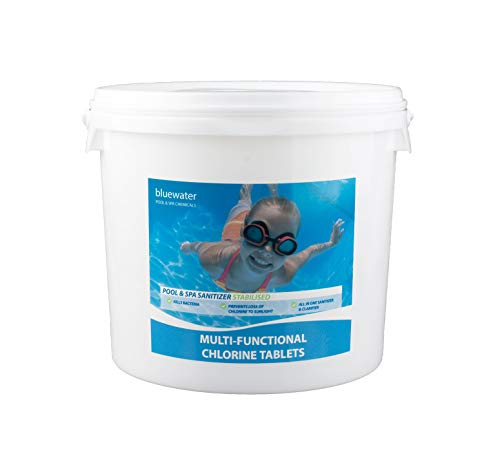 Bluewater 5kg Multifunctional Chlorine Tablets 200g Swimming Pool Chemicals...
