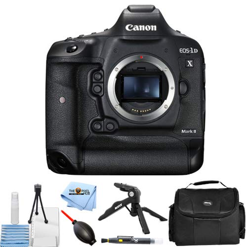 Lowest Prices! Canon EOS 1D X 1DX Mark II DSLR Camera (Body Only) Essential Bundle with Tripod, Gadg...