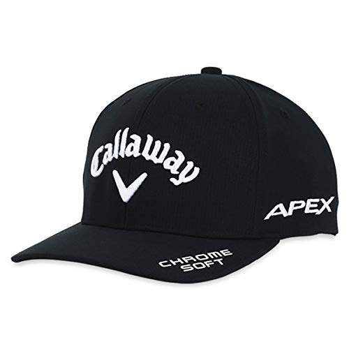Callaway Golf Mens TA Performance Pro 21 Cap-Black-M/L Golf Hat, Hombre, Negro