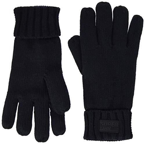 Superdry Herren STOCKHOLM GLOVES Handschuhe, Blau (Rich Navy ADQ), Einheitsgröße