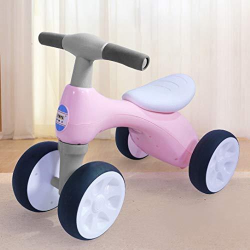 WGYAREAM Kinderfahrrad Jungen Mädchen Fahrrad Baby-Balancen-Fahrrad, Kinderfahrrad, Rutschen Bike 4 Wheel, Trike...