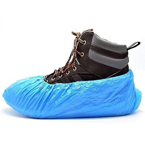 HPiano Cubrezapatos desechables Protección, Set de 120 Fundas Desechables para Zapatos, a prueba de agua, 2,5 gr, talla única, CPE antideslizante, hombres/mujeres