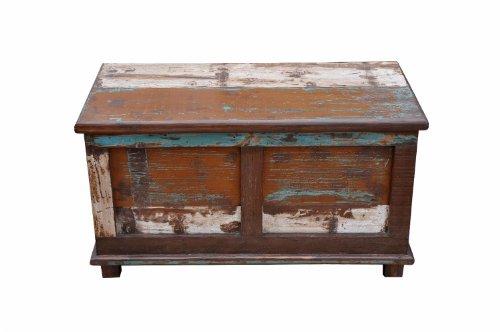 Luxury-Park India Patchwork - Baule in legno anticato