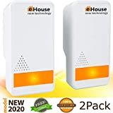 1. BH-3 Ultrasonic Pest Repeller - (2 Pack) Electronic Plug in Best Repellent - Pest Control - Get Rid of - Rodents Squirrels Mice Rats Insects - Roaches Spiders Fleas Bed Bugs Flies Ants Fruit Fly!