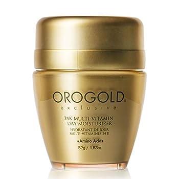 OROGOLD 24K Multi-Vitamin Day Moisturizer with Amino Acids Day Cream with Vitamin C Vitamin A and Vitamin E 52 G / 1.83 Oz.