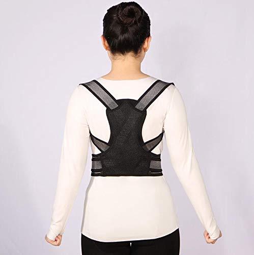 SGLL Ultradünner, Erwachsener Kyphose-Korrekturgürtel, Korrektur im Zhongshan-Stil mit Buckel-Korrekturgürtel, Schmerzlinderung des hinteren Gelenks,XL