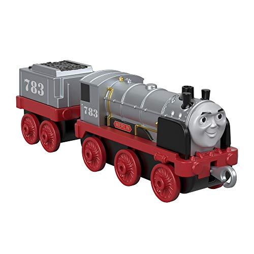 Thomas & Friends Thomas und seine Freunde FXX26 Trackmaster Push-Along Merlin The Invisible, Metall-Zugmotor, Sortiment, Mehrfarbig