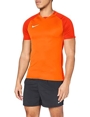 Nike Dry Trophy III - Maglia da Uomo, Uomo, Maglietta, 881483-815, Arancione/Squadra Arancione/Bianco, L