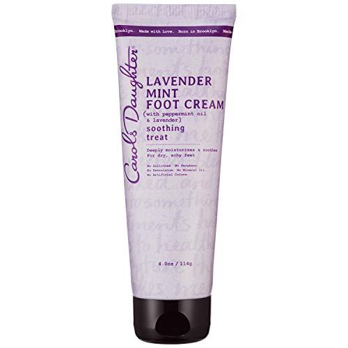Carol's Daughter Carols daughter lavender mint foot cream 4 oz, 6.1 Ounce