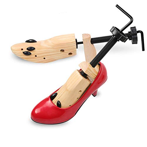 qazxsw Zapatero bidireccional para Mujeres y Hombres, Extensor de Madera para pies Anchos, tubérculos o callosidades, hormas para Zapatos