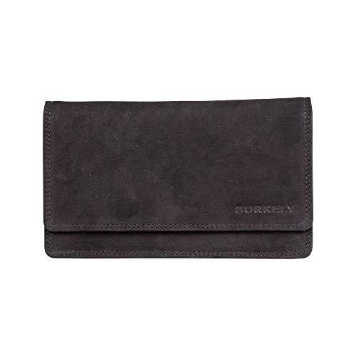 Burkely Stacey Multi Portemonnee Wallet M Zwart