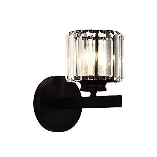 LMDH Lámpara de Pared cristalina Moderna Apliques de la Pared del Accesorio de iluminación único for el Comedor, Dormitorio de Noche, Sala de Estar, Pasillo