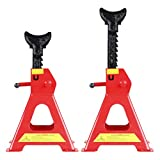 CARTMAN Jack Stands with Outer Foot pad, 3 Ton Capacity, 1 Pair