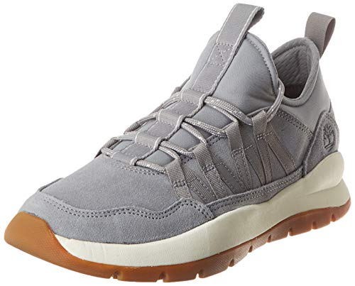 Timberland Herren Boroughs Project Mixed Super Oxford Gymnastikschuhe, Grau (Medium Grey Suede), 49 EU