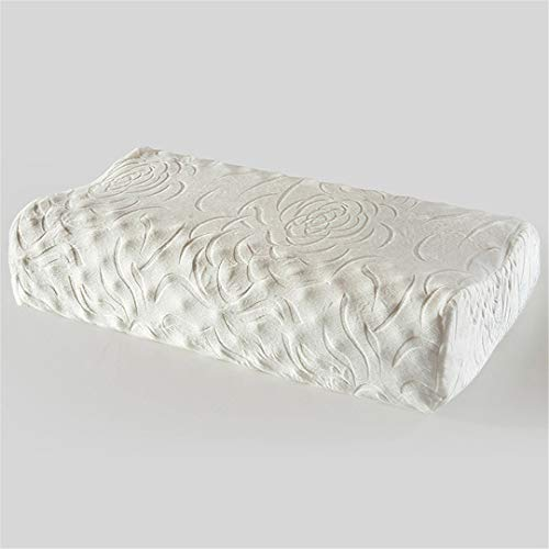 THBVDCVD Latex Naturel Sommeil oreillers tête de Loup Massage Noyau Adulte Oreiller de mémoire de Chambre à Coucher 1 38x62x11cm