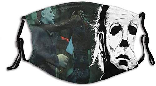 Bandane Halloween Michael Myers 11 filtro antipolvere riutilizzabile riutilizzabile
