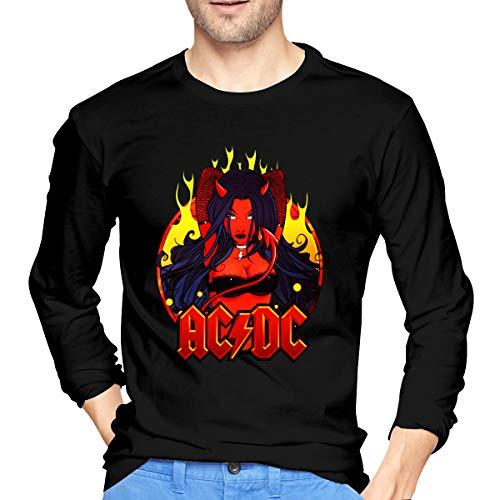 ACDC ComfortSoft Shirts voor heren, lange mouwen, perfect voor binnen- of buitenkant