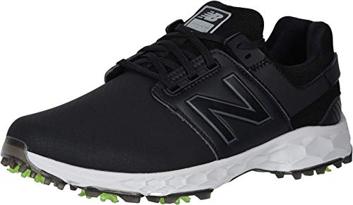 New Balance Men's Fresh Foam LinksPro Golf Shoes (Black, 15)