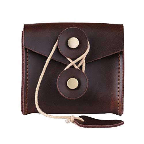 Cabilock organizador del bolso del auricular estuche de cuero de la caja...
