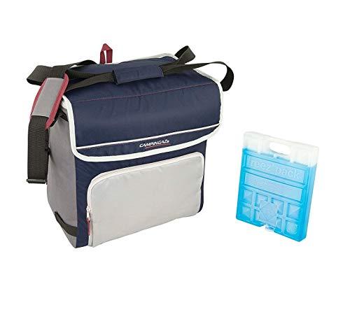 ALTIGASI Sac Thermique Campingaz Fold'N Cool Campingaz de 30 litres avec bandoulière réglable et et Pochette Frontale- Prestation jusqu'à 12 Heures + 1 pièce Freez Pack M20