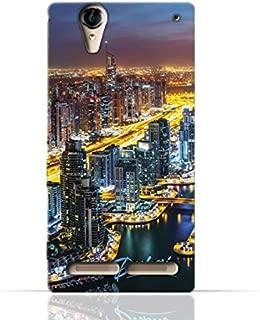 Sony Xperia T2 Ultra TPU Silicone Case with Dubai Marina Design