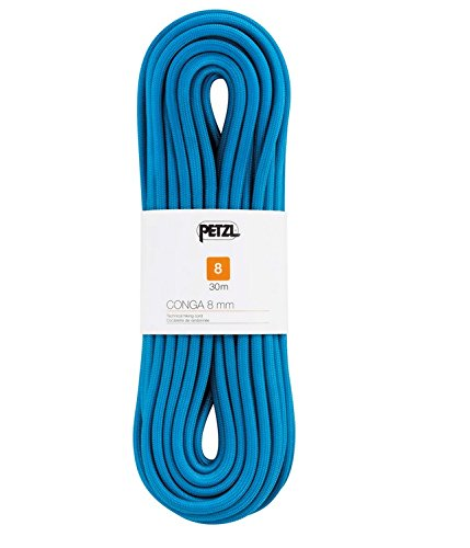 PETZL Unisex Adult Conga Rope 8.0mm x 20m, Blue, One Size Hawaii